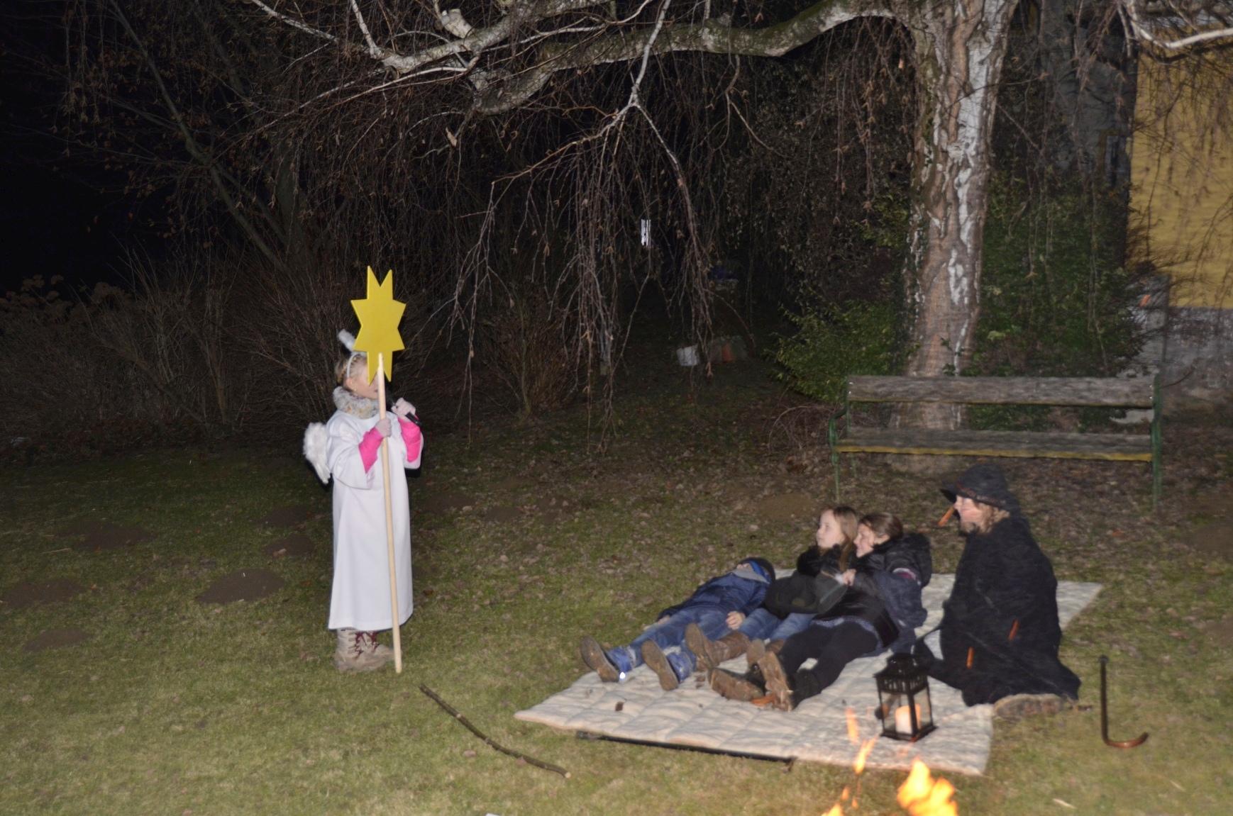 Der Engel erschien den Hirten