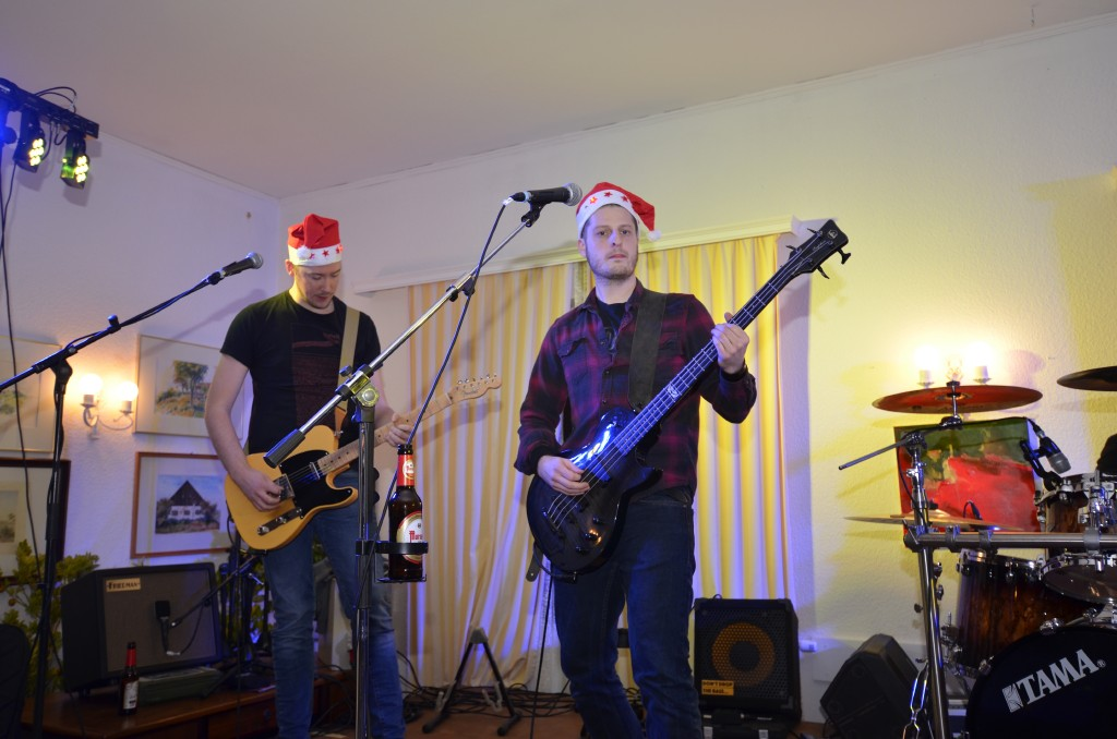 "Weihnachts-Rock mit ""The Stockings"""