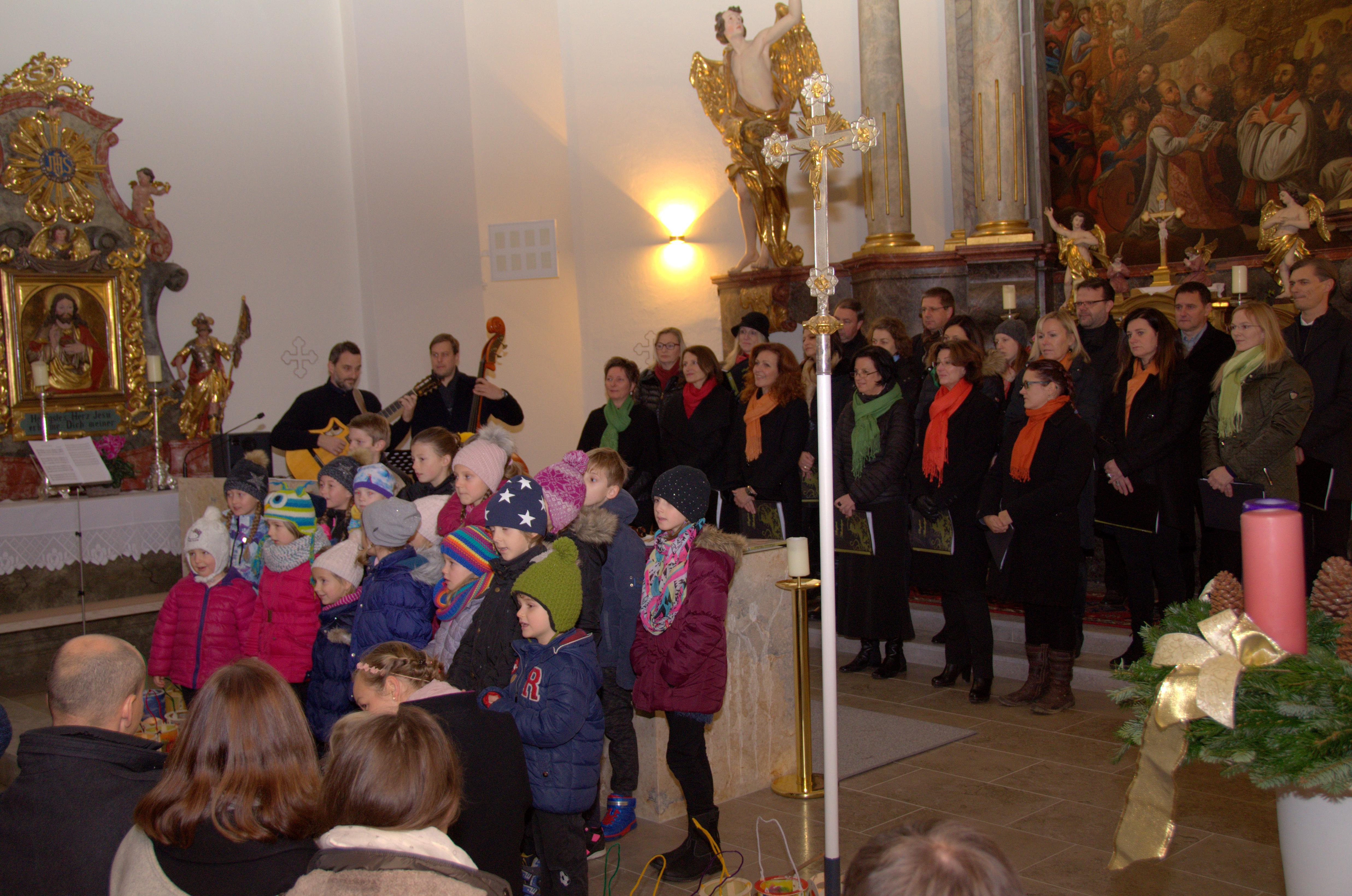 Kinderchor und Singkreis Allerheiligen