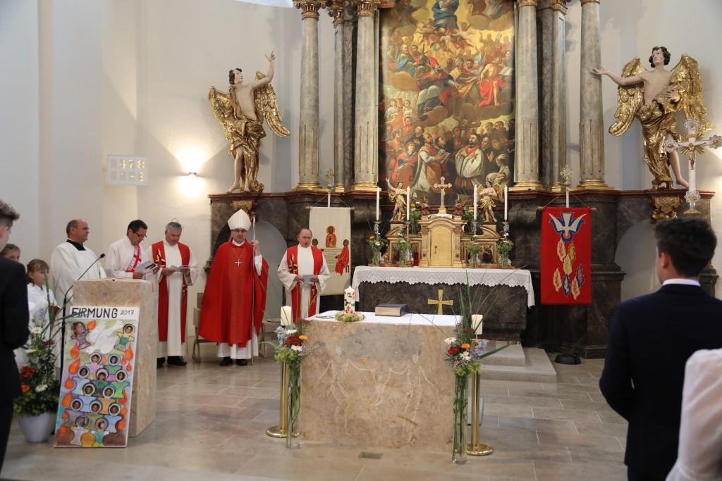 Heilige Firmung mit dem Bischof