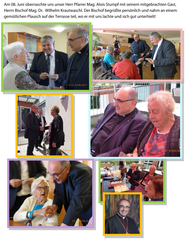 Der Bischof besuchte das Seniorenhaus Allerheiligen