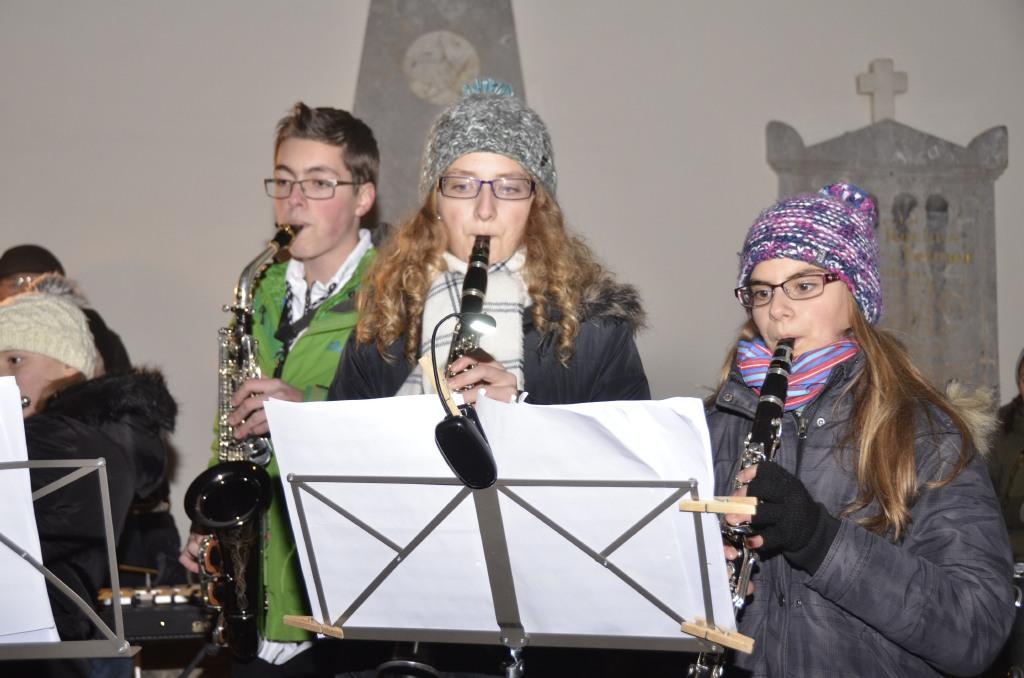 Unsere jungen Klarinettistinnen