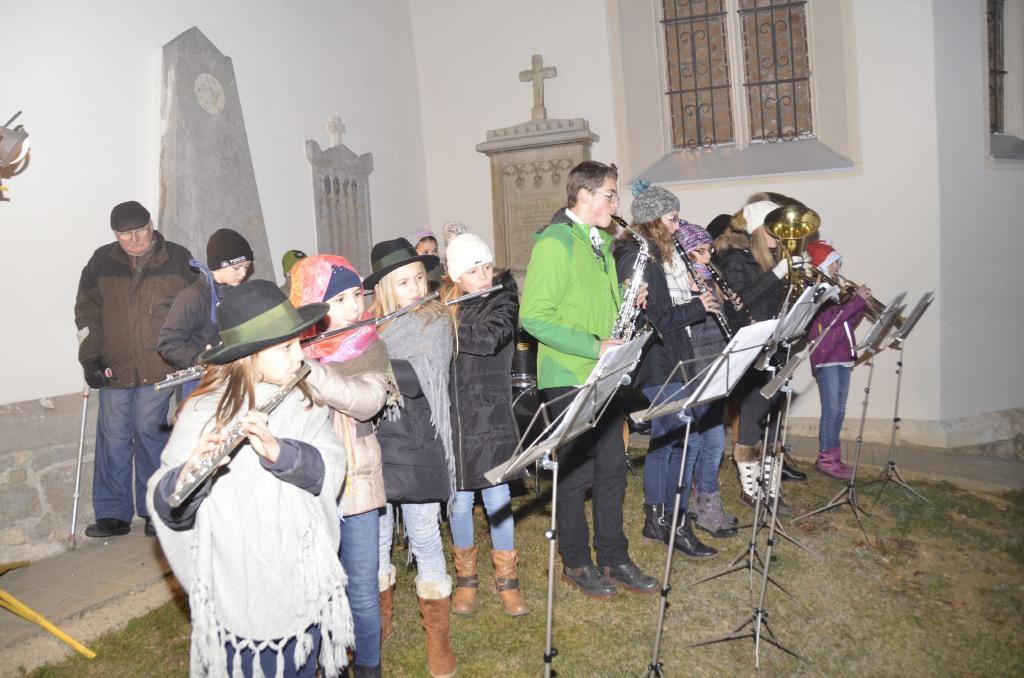 Eröffnung mit dem Jugendorchester des Musikvereines