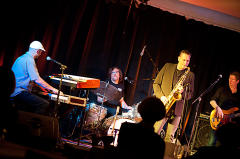 Ludwig Seuss Band auf der KDA-Kulturbühne in Allerheiligen