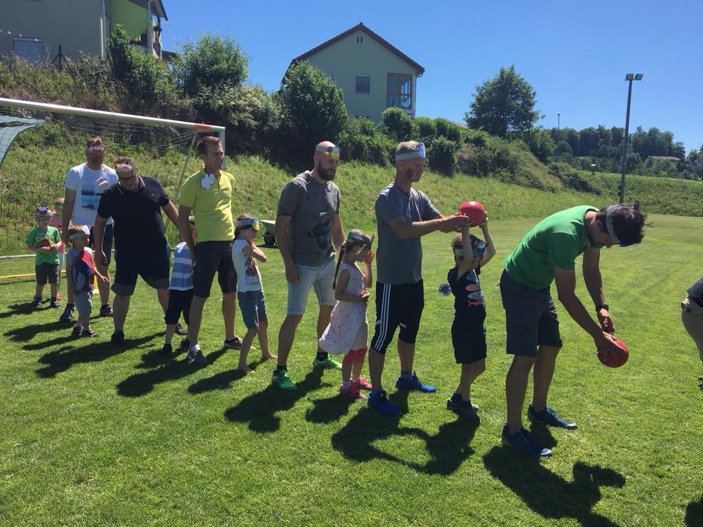 Kindergarten Papatag - Ballspiel