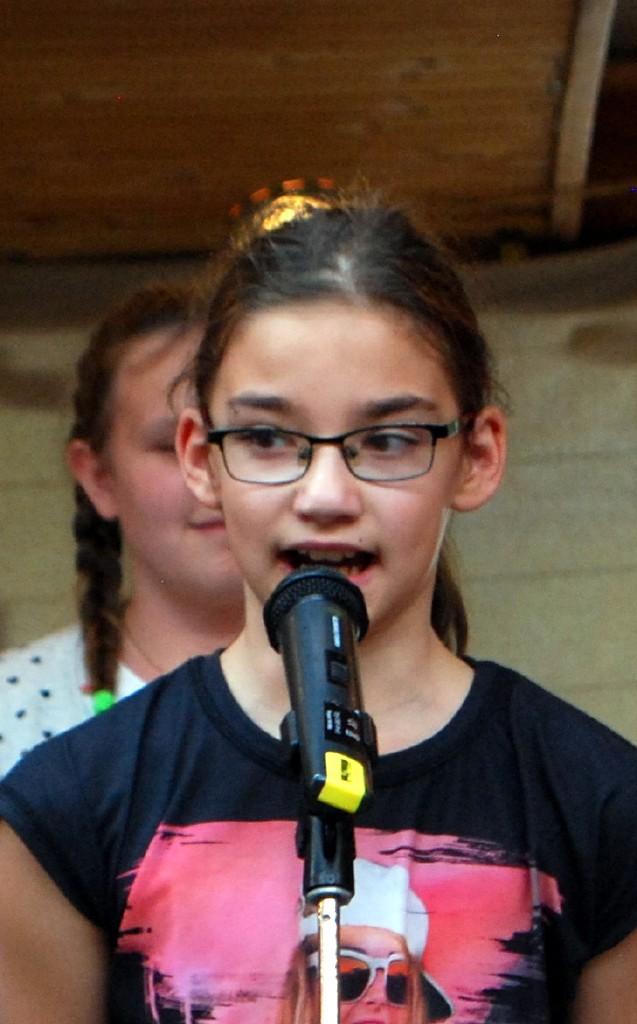 Daniela Hofer von der 4. Stufe