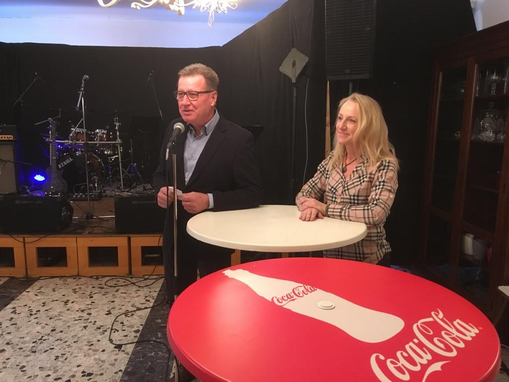 Begrüßung durch Bürgermeister Michael Fuchs-Wurzinger und Kulturreferentin Theresa Wiedner