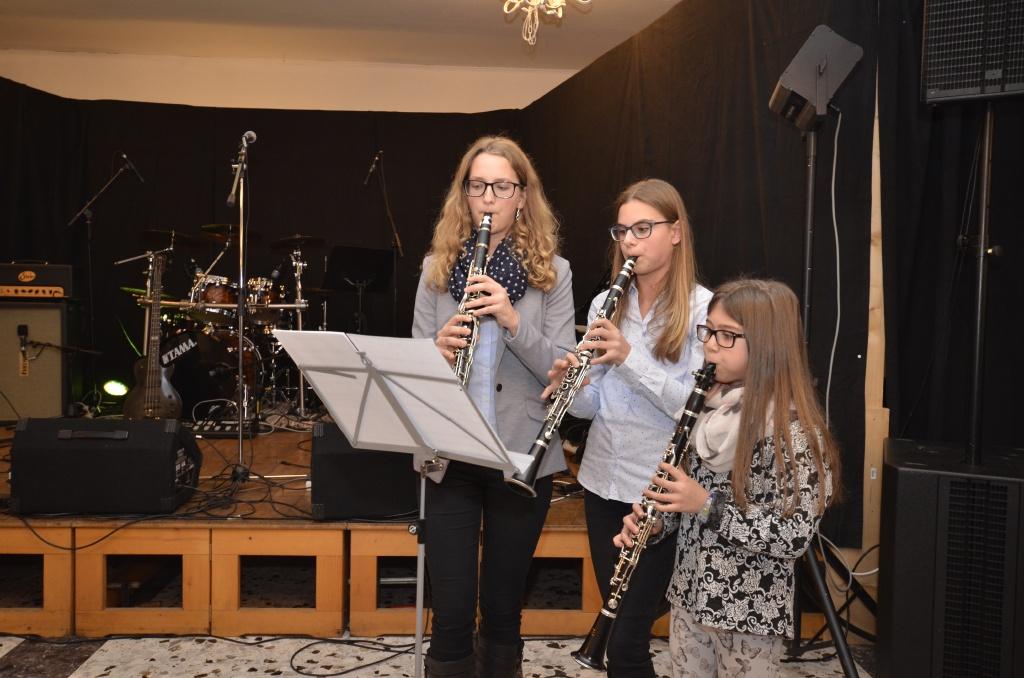 Klarinetten-Trio vom Musikverein Allerheiligen