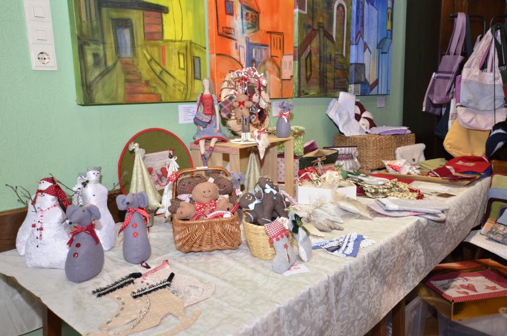 Kunsthandwerk bei der Allerheiligener Weihnachts Art