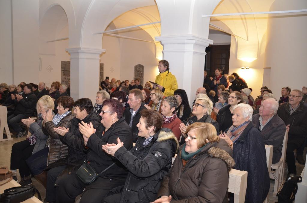 Ein begeistertes Publikum in der Pfarrkirche Allerheiligen